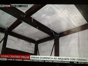Un'immagine della struttura della Madis Room presentata da Antonio D'Intino a Sky Tg24