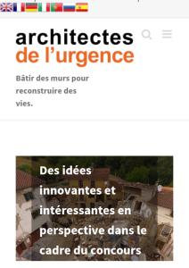 Il concorso internazionale di idee per la creazione di mobili antisismici