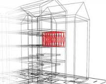 La struttura della Stanza Antisismica
