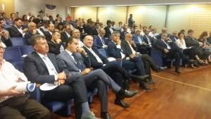 La platea durante la cerimonia di premiazione nell'Auditorim Petruzzi