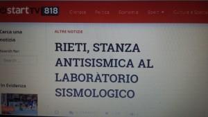 Il titolo di Sabinia Tv di Rieti