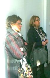 A sx, la Dirigente dell'Ufficio Scolastico dell'Aquila: Rita Vitucci