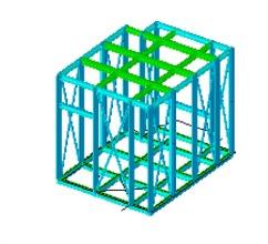 Schema della gabbia