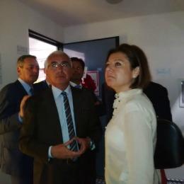 Il sottosegretario all'economia Paola De Micheli nella Madis Room