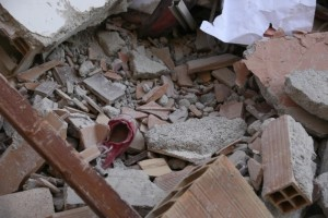 il disatro del terremoto in provincia di Macerata